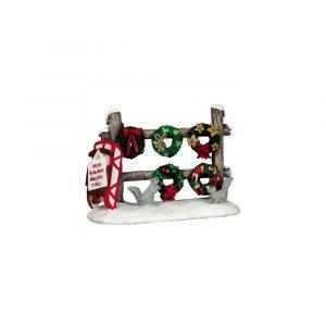 54942 - LEMAX CHRISTMAS WREATHS 4 SALE