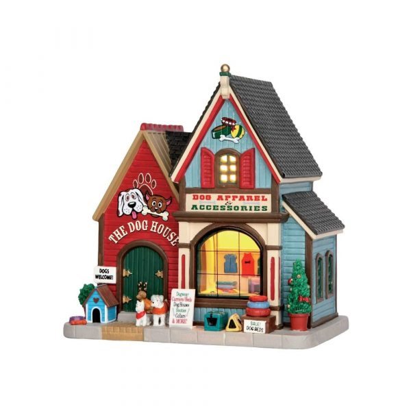 55978 - LEMAX THE DOG HOUSE