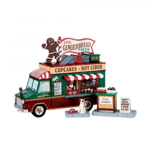 63278 - LEMAX THE GINGERBREAD MAN, SET OF 3