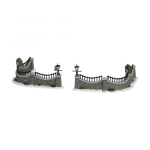 63576 - LEMAX STONE WALL, SET OF 6