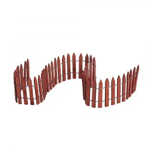 84813 - LEMAX WIRED WOODEN FENCE